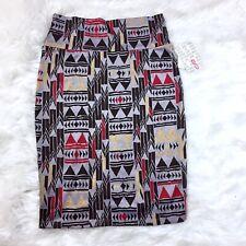 Lularoe New Aztec Cassie Pencil Skirt Size S Southwestern Navajo Print