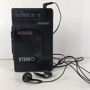 Sanyo MGR -701 Walkman 1980s With Sony Headphones