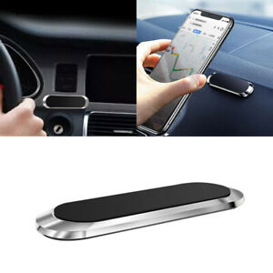 Car Magnetic Phone Holder Stand Strip Shape For iPhone Magnet Mount Accessories