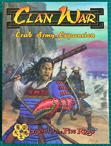 Crab Army Expansion Box  ( Clan War: Legend Of The Five Rings )