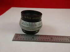 ANTIQUE OPTICAL LENS ANASTIGMAT ILEX PARAGON 3 1/2 INCHES OPTICS &33-A-83