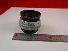 ANTIQUE OPTICAL LENS ANASTIGMAT ILEX PARAGON 3 1/2 INCHES OPTICS &33-A-83