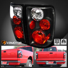 2001-2005 Ford Ranger Black Rear Brake Lamps Tail Lights Pair Replacement