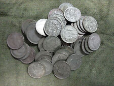 #C29. FIFTY(50)   1959  AUSTRALIAN  SILVER  SIXPENCE COINS