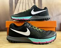 Nike Air Zoom Terra Kiger 4 Trail Running Shoes Black/Volt 880563-001 Men's 14