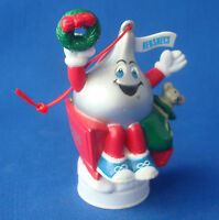 """Hershey's Kiss in sleigh Christmas 3"""" Collectible Ornament 1995 chocolate"""