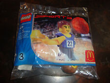 McDonald's---Lego Sports---Basketball---#3---5 Pieces---Factory Sealed---2004