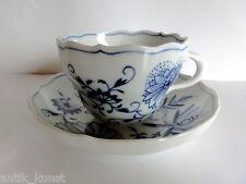 Meissen Kaffeetasse,Tassen, Tasse m.Unterer Zwiebelmuster 1. Wahl unbeschädigt