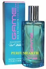 COOL WATER GAME BY DAVIDOFF 1.6/1.7oz. EDT SPRAY FOR WOMEN NEW IN BOX