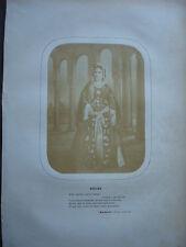 PHOTO ORIGINALE 1859 RACHEL DANS ROXANE BAJAZET