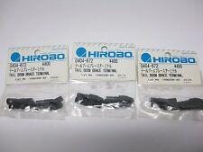 3 Pkt Original Hirobo Heckrohr Abstützung Verbindungsstück 0404-672 TAIL BOOM