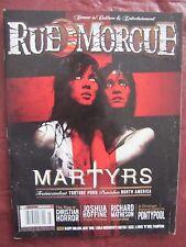 Rue Morgue # 87 Martyrs, Transcendent Torture Porn