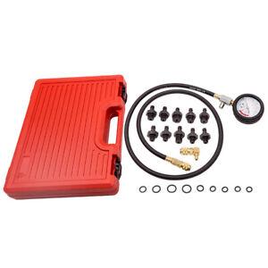 Oil Pressure Tester Measuring Instrument Oil Pressure Meter Set Tools Car