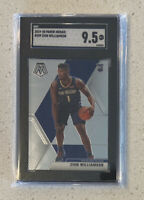 Zion Williamson 2019 RC Rookie Panini Mosaic #209 SGC 9.5 MINT + PELICANS