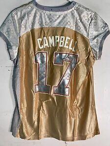 Reebok Women's NFL Jersey Washington Jason Campbell Gold Flirt sz S
