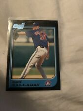 1997 BOWMAN ROY HALLADAY ROOKIE BASEBALL CARD -#308 Phillies Blue Jays HOF