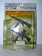 """Dragon 12"""" WW2 German MP44 & Vampir Rifles Set 1/6"""
