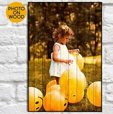Personalised Mothers Day gift From Daughter Birthday gifts For Mum Photo on wood