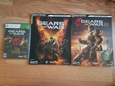 Gears of War Triple Pack (Microsoft Xbox 360, 2011) and Gears 1 & 2 Strat Guides