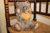 Steiff Dolan Zotty 0312/35 Mohair Teddy Bear AUSTRIAN EXCLUSIVE 1970