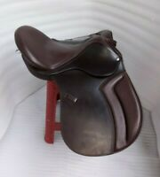 English saddle leather treeless GP all purpose saddle in all size black & brown