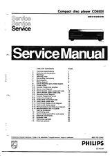 Service Manual-Anleitung für Philips CD 850 II