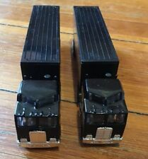 Matchbox Set Of 2 Black 1981 Kenworth Cab&Trailer With Opening Back Doors