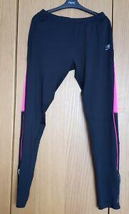 Womens Karrimor Activewear Running Leggings Black/Pink Size 18