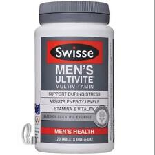 AU SELLER Swisse Men's Ultivite Multi Vitamin 120 Tablets 4 Month Supply