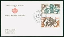 Mayfairstamps Monaco Fdc 1984 Hercules Combo First Day Cover wwp_57553
