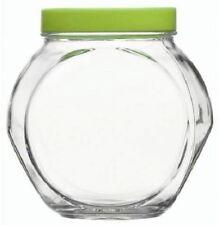 Anchor Hocking Large Glass Sweet Cookie Jar 1.5 L Airtight Lid Food Storage
