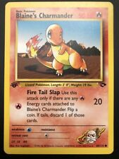Carte Pokemon BLAINE'S CHARMANDER 60/132 Gym Challenge EDITION 1 Wizard NEUF