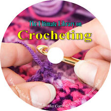 30 RARE Books on CD – HUGE Library on Crocheting, How to, Doily Crochet Thread