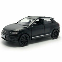 VW T-ROC SUV 1:36 Scale Model Car Diecast Gift Toy Vehicle Kids Collection Black