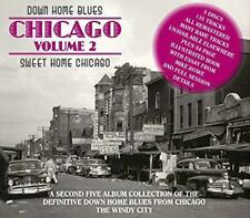 Down Home Blues: Chicago Vol 2: Sweet Home Chicago - Various Artists (NEW 5CD)