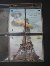 AEROSPACE MUSEUM 2001 Complete Set of  4 Different Phone Cards from Brazil