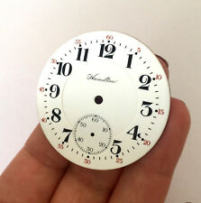 VINTAGE HAMILTON POCKET WATCH DIAL ONLY FOR PARTS NOS