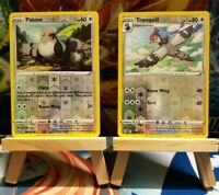 Pidove + Tranquill - Reverse Holo, SS Rebel Clash, Mint/NM, Pokemon TCG