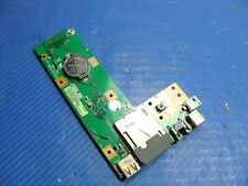 "Asus 15.6"" K52F-BBR9 DC Jack Power Button w/USB LAN Board 60-NXMDC1000 GLP*"