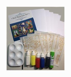 Silkcraft™ Silk Painting:Cardmaking kit- Cat & Dog pack- Makes 5 beautiful Cards