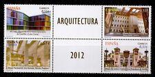 1 SERIE ( CON BANDELETA CENTRAL) DE ARQUITECTURA DEL AÑO 2012