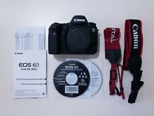 Mint Condition Canon EOS 6D 20.2MP DSLR Camera Body Only