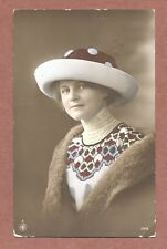 Fashionable Lady,  Lace 1913,  Miss Burns, 80 Bankes Road  Small Heath   AH301