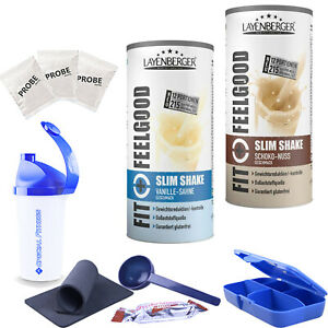 31,31€/kg Layenberger Fit+Feelgood Slim Shake 2x396g BONUS I Fitness Sport