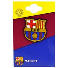 FC Barcelona FCB Crest forma di Gomma Frigo Magnete Souvenir Regalo di Natale NUOVO