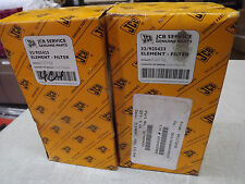 JCB 526S Loadall, 3CX P21, 520/50 Fuel Filter New OEM 32/925423 NOS Lot of 2