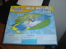 Wild Water Slide 16 feet long Wet And Wild Outdoor Sliding Fun Season of Fun NEW