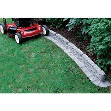 20 ft Bedrocks TrimFree Resin Slate Landscape Lawn Edging Garden Border Edge Kit