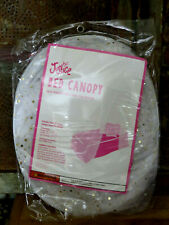 JUSTICE Tulle Bed Canopy w sparkles Brand New