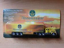 Modell LKW Bier Truck Bierlaster KRAZ Taiga-Truck Altenmünster  1MK 3